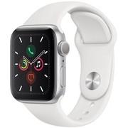 Apple Watch Series 5 GPS 44 mm cassa in alluminio color Silver e Cinturino Sport White MWVD2TY/A