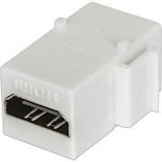 Modul pentru panou de conexiuni , Intellinet , HDMI tip mama/mama , alb