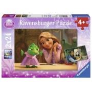 Puzzle 2 in 1 - Rapunzel, 48 piese