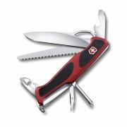 Victorinox Taschenmesser Ranger Grip 78 Rot-Schwarz, 0.9663.MC