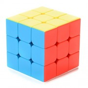 Qiyun Puzzles Cube G3 Speed Cube Brain Teaser 3x3 Stickerless Twisty Puzzle Competition Magic Cube