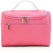 Expeditious Expeditious® Multifunction Zipper Toiletry Bags Travel Organizer Wash Storage Bags Makeup Bags Cosmetic Case – Pink Color(Pink)