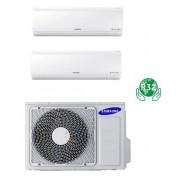 Samsung DUAL NEW STYLE PLUS AJ050NCJ2EG/EU + 2 x AR12NXFHBWKNEU 12+12 - Gas R-32