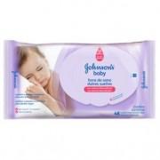 Toalhas Umedecidas Johnsons Baby Hora do Sono 48 Unidades