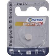 Baterie buton oxid de argint 377, 1,55 V, 28 mAh, Conrad energy