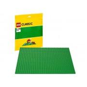 10700 Placa de baza verde LEGO