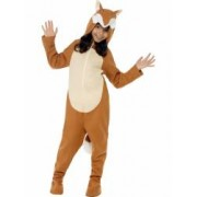 Costum carnaval animale Vulpe sau Vulpoi 140 cm 8-10 ani