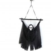 Esqueleto Colgante Calavera Fantasma Para Halloween Fantasma Cazado Casa Día Del Tonto De Abril