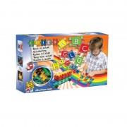 Set de constructie Clics Toys, 172 piese, 210 stickere
