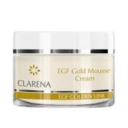Clarena EGF Gold Mousse Cream Peptydowy krem w musie z koloidalnym złotem i BIO-Placentą 50 ml