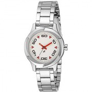 Fastrack Analog Silver Dial Womens Watch-6141SM01