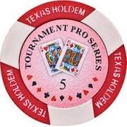 Póker zseton texas holdem 5