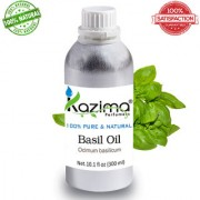 Basil Tulsi Essential Oil (300ML) Pure Natural For Skin Care & Hair Treatment