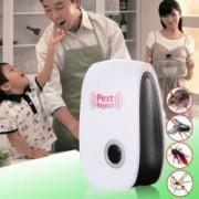 SET 2 bucati Aparat anti Daunatori Ultrasonic pentru gandaci muste tantari furnici paianjeni soareci Ultrasonic Pest Reject