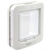 Вратичка за животни SureFlap XXL с разпознаване на микрочипа - адаптер за монтаж в стъкло, бял