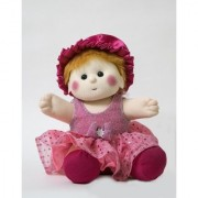Baby Doll Girl Chamki Pink Color by Lovely Toys