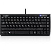Perixx PERIBOARD-407B Mini Keyboard Black (10789)