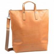 Jost Rana X-Change Mochila piel 40 cm Compartimento para portatíl cognac