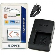 NP-BN1 Battery and BC-CSN Charger for Sony DSC W690 TX9 W320 TX5 TX7 + Warranty