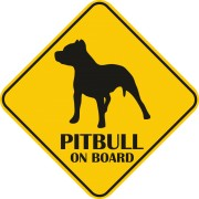 Sticker auto - Pitbull
