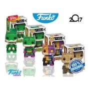 Set 4 Impopster Funko Pop Original Super Heroes Dc Comics Poison IVY, Scarecrow, The Riddler Y Two-Face