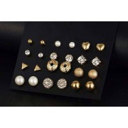 Your Ideal Gift £6.99 (from Your Ideal Gift) for 12 pairs of mini stud earrings