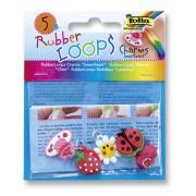 Rubber Loops Charmsy RUBBER LOOPS SWEETHEART, 5szt., mix kolorów