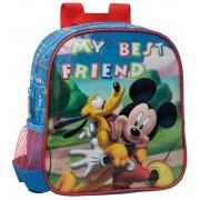Ghiozdan 25 cm Mickey si Pluto Friends