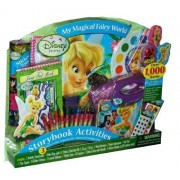"Disney Fairies ""My Magical Fairy World"" Storybook Activities Set"