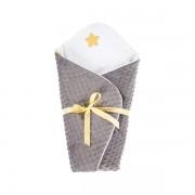 Albero Mio patura de infasat bebelusi (wrap) - K066 My Little Star bej