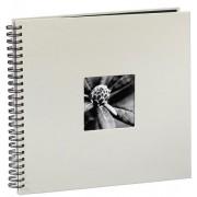 Hama album klasické spirálové fine art 36x32 cm, 50 stran, křídová