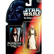 Star Wars: Power of the Force Red Card > Ben (Obi-Wan) Kenobi with Long Lightsaber Action Figure