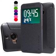 HTC One M9 Plus Nilkin View Wallet Калъф и Протектор