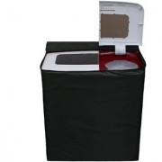 Glassiano Green Waterproof Dustproof Washing Machine Cover For semi automatic LG P7258N1FA 6.2 Kg Washing Machine