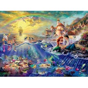 Ceaco Perfect Piece Count Puzzle - Thomas Kinkade Disney Dreams Collection - The Little Mermaid