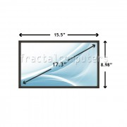 Display Laptop Toshiba SATELLITE L550-10W 17.3 inch 1600x900