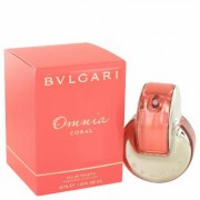 Omnia Coral For Women By Bvlgari Eau De Toilette Spray 1.4 Oz