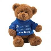 Personalized GUND I'm the Big Brother T-Shirt Teddy Bear Plush Stuffed Animal Toy