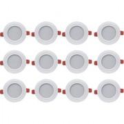 Bene LED 7w Ray Round Ceiling Light Color of LED White (Pack of 12 Pcs)