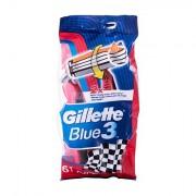 Gillette Blue3 Nitro jednorázová holítka 6 ks pro muže