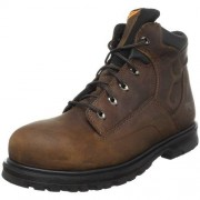 "Timberland Pro Men's Magnus 6"" Safety Toe Work Boot,Brown,8 W US"