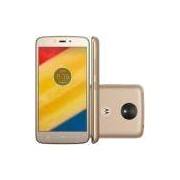 Smartphone Motorola Moto C PLUS XT1726 , Android 7.0, Tela 5.0´ 16GB, 8MP, 4G, Dual Chip - Dourado
