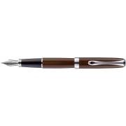 DIPLOMAT Excellence A - Marrakesh Chrome - stilou cu penita M, din otel inoxidabil