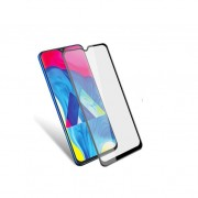 Película de vidro temperado 5D preta para Samsung Galaxy A40