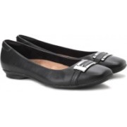 Clarks Candra Glare Bellies For Women(Black)