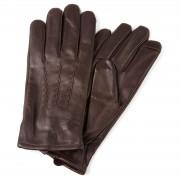 Salt & Hide Bruine Lederen Handschoenen