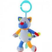 Вибрираща играчка за кошарка и количка Смеещо се коте - 1302 Babyono, 9070149