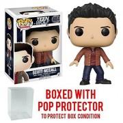 Funko Pop! Television: Teen Wolf - Scott McCall Vinyl Figure (Bundled with Pop Box Protector CASE)