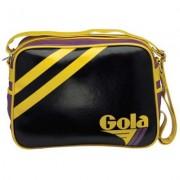 Borsa Gola Saunders Black/Purple/Yellow