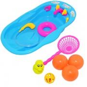 Vanita bebe pentru baie cu accesorii, 31x18x5 cm